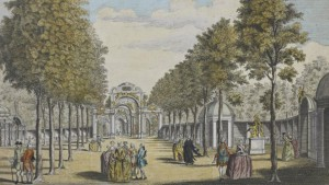 The Vauxhall Pleasure Gardens.