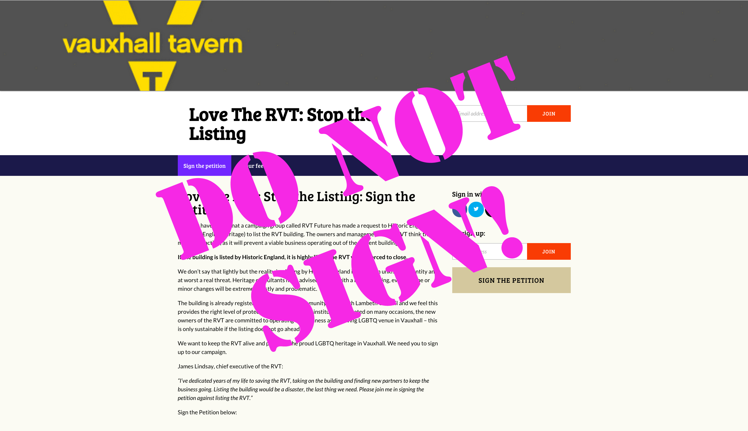 lovethervt.com DO NOT SIGN